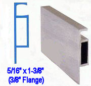 Extruded Screen Frame - Reverse Flange