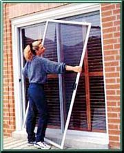 Heavy Duty Sliding Patio Screen Door Kit Sliding Screen